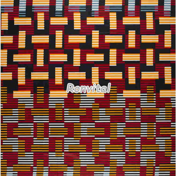 Item No.061052 Made to order high-quality african java wax fabric