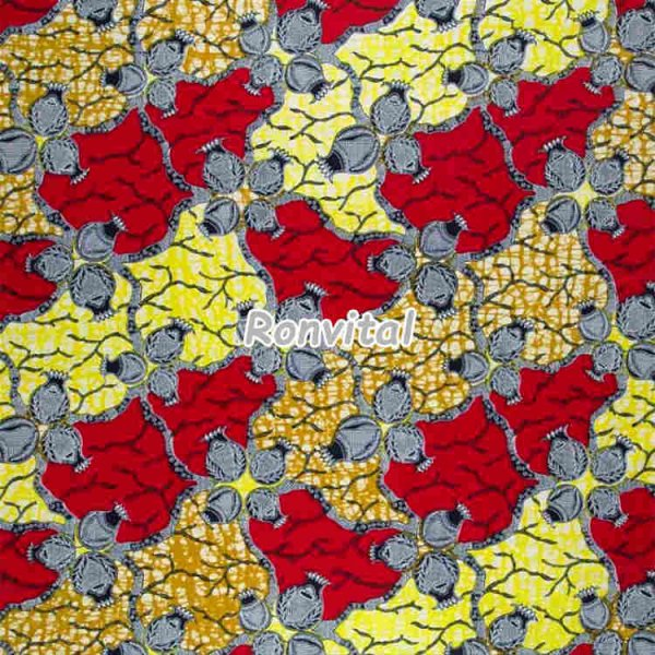 Item No.062212 Chinese supplier direct price custom traditional super wax print fabric
