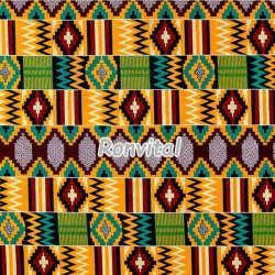Item No.17020600 Chinese factory direct price kente java wax fabric