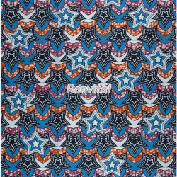 Item No.062858 Choose the star design super wax african fabric