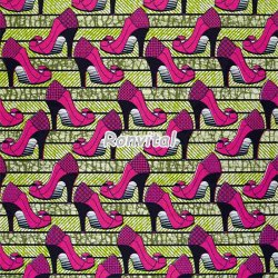 Item No.041387 Wholesale high quality african super wax printed fabric