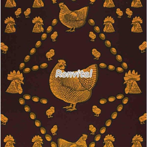 Item No.005852 Choose popular veritable hollandais real wax print fabric
