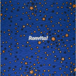 Item No.050449 Made to order star design veritable holland wax print fabric