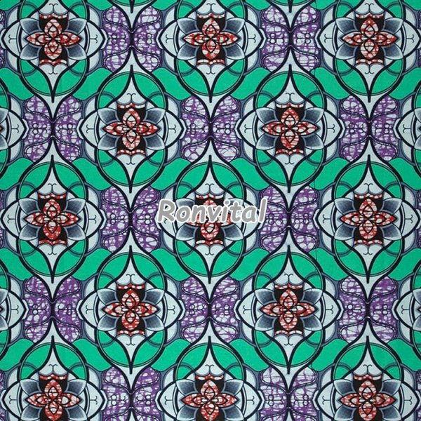 Item No.a2202.017 Made to order the latest design super wax print fabric