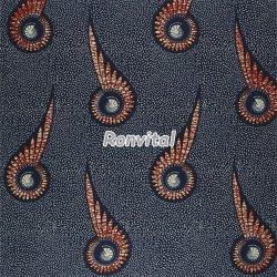 Item No.04309.010 Choose the new design veritable hollandais real wax print fabric